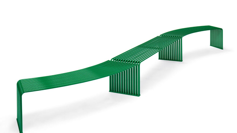 .015 Flache Sitzbank konkav oder konvex Urbantime by Diemmebi