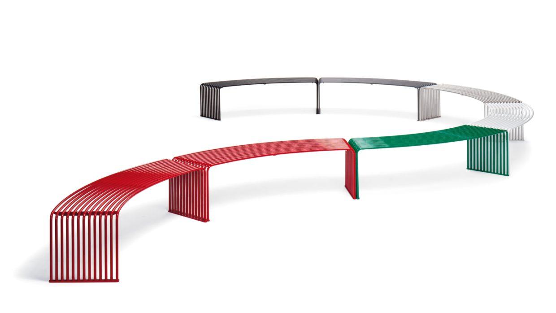 .015 Concave or convex bench Urbantime by Diemmebi