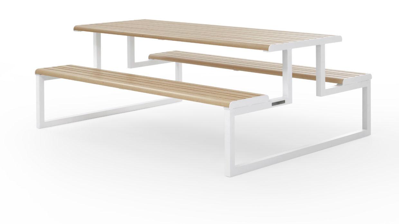 Ventiquattrore.h24 | Möbel für den Außenbereich aus Stahl und Aluminium Urbantime by Diemmebi