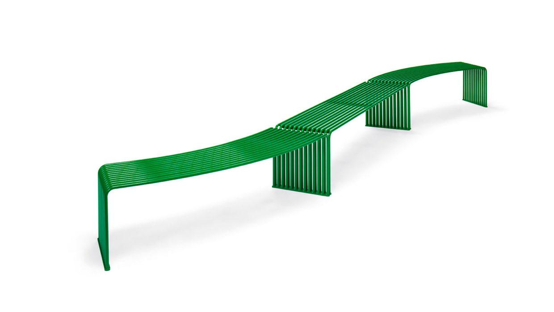 .015 Flat Bench Concave/Convex Urbantime by Diemmebi