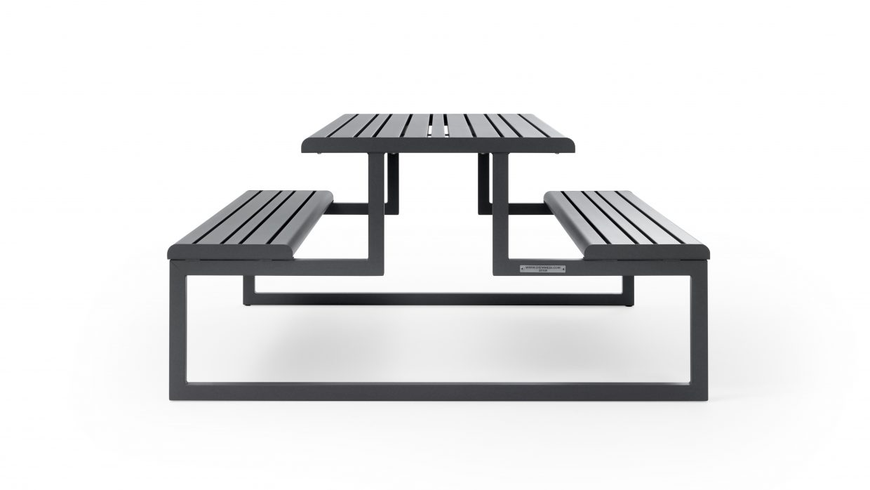 .h24 Table de pique-nique Urbantime by Diemmebi