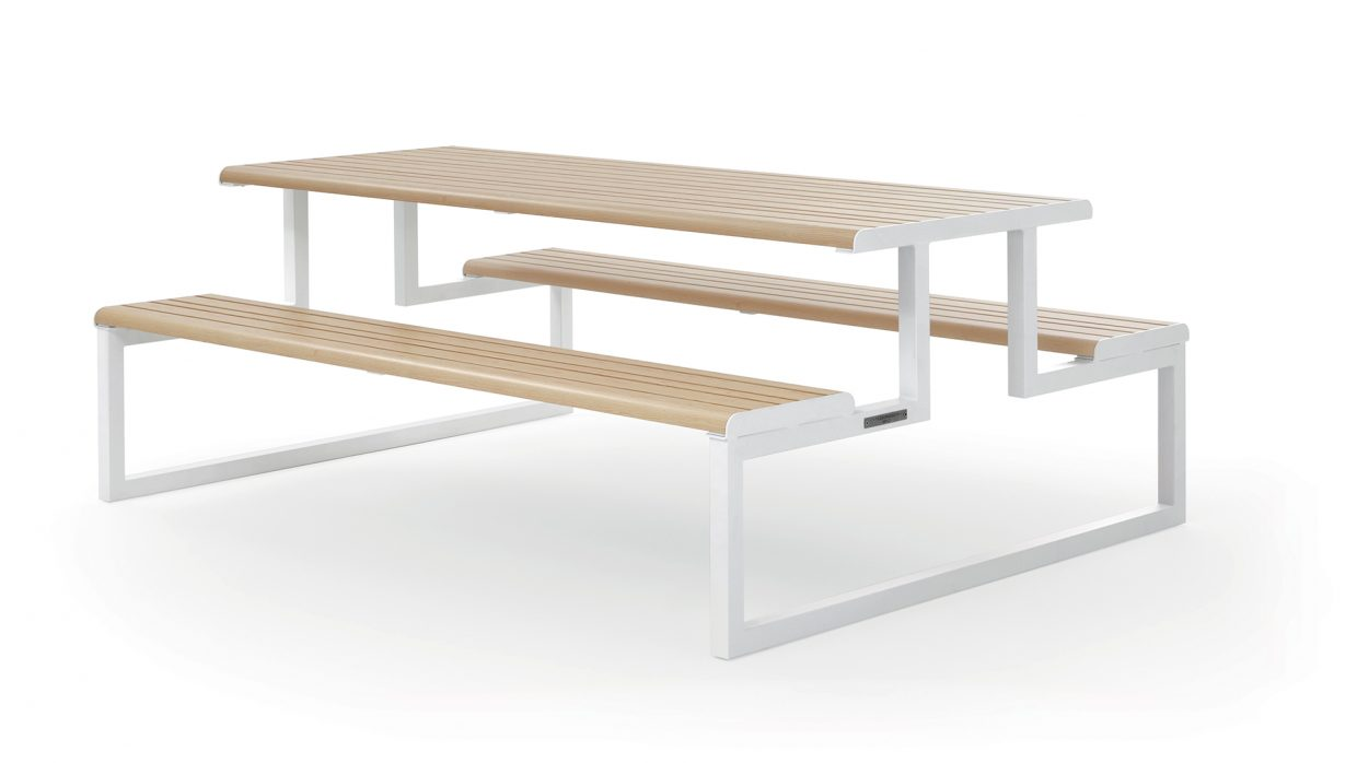 .h24 Picnic Table Urbantime by Diemmebi