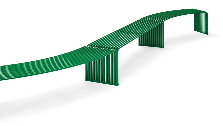 Banc plane concave/convexe Urbantime by Diemmebi